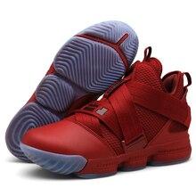 another chance 19fbf cb21c Man High-top Jordan Basketbal Schoenen mannen Demping Licht Basketbal  Sneakers Anti-slip Ademende Outdoor Sport Jordan schoenen