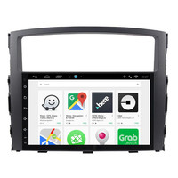 CHOGATH 2 Din 9 1/2G RAM Car radio GPS Navigation Android 9.0 For MITSUBISHI PAJERO V97 Car DVD Multimedia Video Player