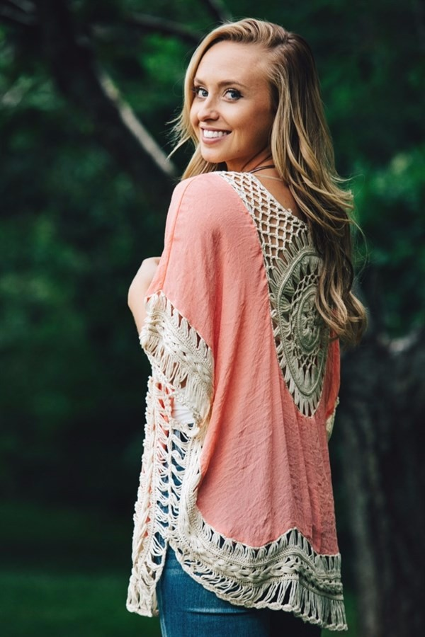 Quality Crochet Bikini Cover-ups Hollow Out Women Handmade Beachwear Bohemia Robe Cover up One-piece Flax Vacation Smock 6