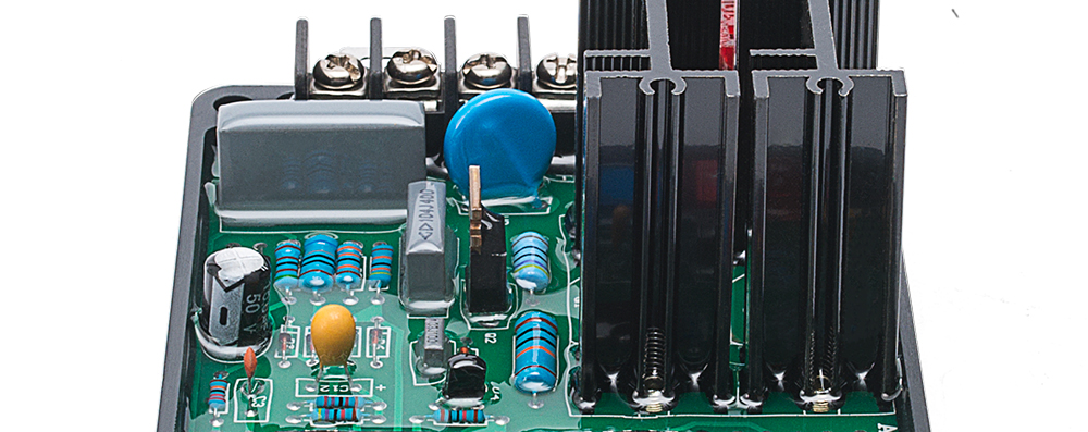 parte controlador elétrico estabilizador