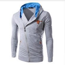 2017 reißverschluss stil männer kapuzenpullover herbst clothing dünne m-3xl assassins creed hoodie