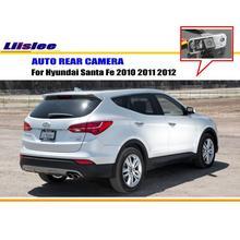 Car Rear View Camera / Back Up Reverse Parking Camera For Hyundai Santa Fe 2006~2012 License Plate Lamp HD CCD Night Vision