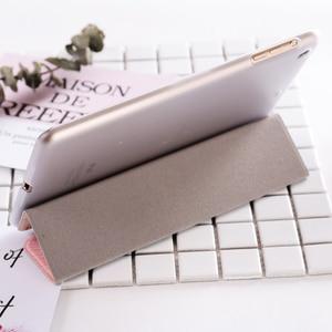 Image 4 - Магнитный чехол книжка для планшетов с Кремовым рисунком