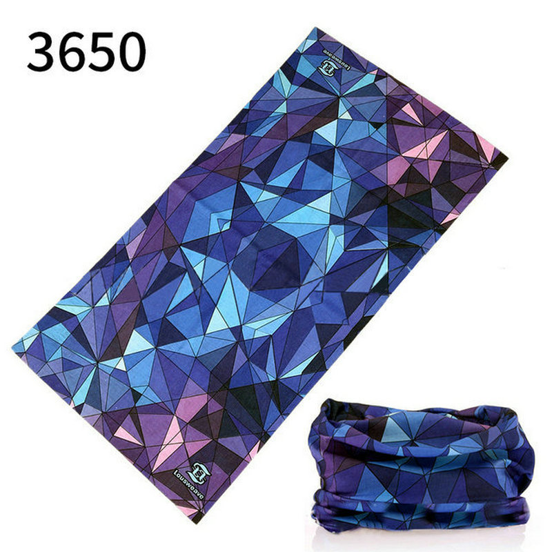 Outdoor Sport Printing Bicycle Headwear Fishing Cycling Running Hiking Riding Scarf Bike Mask Fashion Headband Scarf