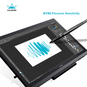 Image 3 - Huion kamvas GT 191 19.5 インチの ips ディスプレイ 8192 レベルインタラクティブデジタルグラフィック描画モニターとギフト