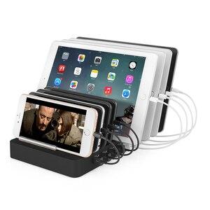 Image 5 - AIXXCO 96W 19A 8 יציאות USB מטען נייד טלפון מטען עבור סמסונג Huawei LG Iphone מתאם