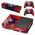 NHL Washington Capitals Decal Skin Sticker for Microsoft Xbox One Kinect and Console and 2 Controllers Vinyl Game Stickers