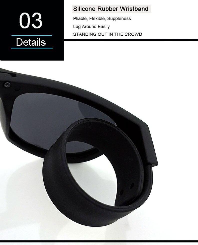 7b964d1f18f Slap Sunglasses Polarized Women Slappable Bracelet Sun Glasses for ...