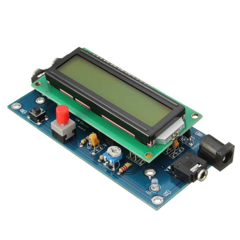 Dedicated Cw Decoder Reader Morse Code Translator Ham Radio Accessory Essential Module Include Lcd 2v/500ma Audio & Video Replacement Parts
