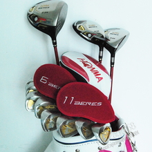 Cooyute New womens Golf Clubs HONMA S-03 Compelete set of clubs Driver+wood+irons NO Bag Graphite Golf shaft Free shipping