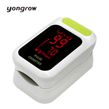 Yongrow New Finger Pulse Oximeter Portable Fingertip Pulse Oximeter Oximetro de dedo Pulsioximetro Digital Auto-Power on