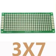 100pcs 3x7 cm Double Side Copper Prototype Pcb Board