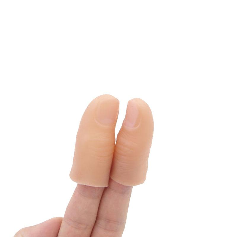 2PCS LOT Magic Thumb Tip Real Around Magic Tricks Gift Party font b Toys b font