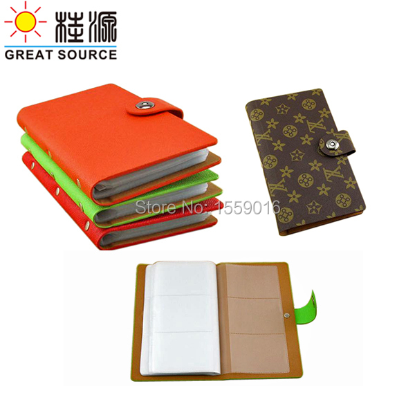 ID Card Album Name Card Album 120pcs pockets matt PP pocket name card stock