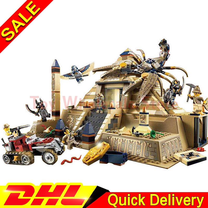 Lepin 31001 Egypt Pharaoh Series The Scorpion Pyramid 822Pcs Children Educational Building Blocks Bricks Toys Model Gifts 7327 the red pyramid