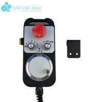 CNC generador de pulso 4 axis MPG colgante volante y de emergencia Stopmanual generador de pulso MPG para Siemens MITSUBISHI FAN