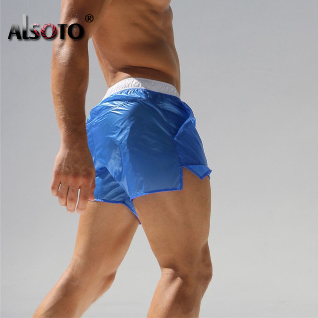 Summer 2018 New Man Beach swimsuit casual trunks sexy briefs plus size swimwear boxers mayo badpak maillot de bain