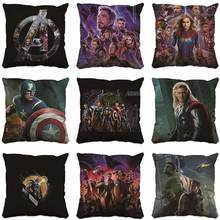 Marvel Super Hero Sofa Home Decorative Avengers 4 Justice League Infinity wars Iron Man  Hulk Thor Cushion Pillow Gift