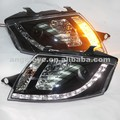 Для Audi TT СВЕТОДИОДНАЯ головная лампа передние фары с объективом проектора 1999 - 2006 год SN Тип