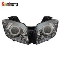 KEMiMOTO HID CCFL Angel Eye Projector Adaptive Model For Yamaha YZF R15 2012 2013 2014 2015