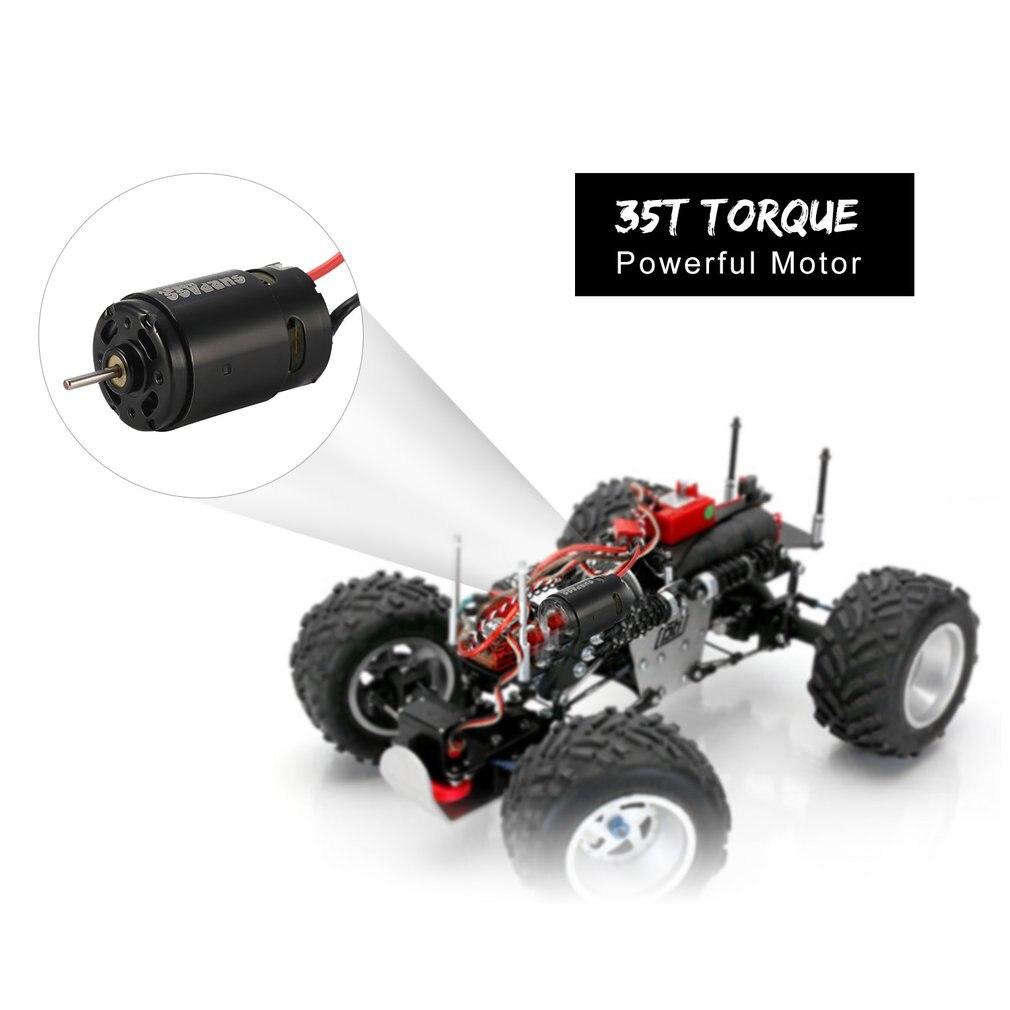 550 35 T 2-5 s cepillado Motor piezas para 1/10 RC coche de deriva gira Off-road oruga ¡Redcat HSP HPI Wltoys Kyosho TRAXXAS D110 caliente!