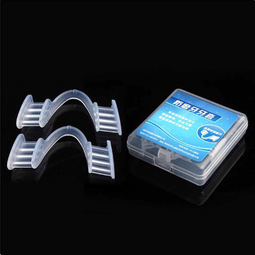 1Pair Dental Mouth Guard Prevent Night Teeth Tooth Grinding Sleep Aid Bruxism Splint Help To Cultivate Good Heathy Habit