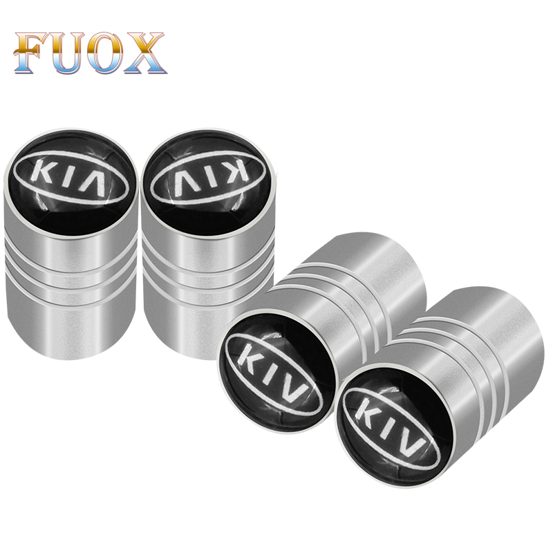 4pcs Car Wheel Tire Valves Tyre Air Caps case For Kia Rio Sportage Soul ceed For HYUNDAI i30 Verna <font><b>Veloster</b></font> i35 car accessories image