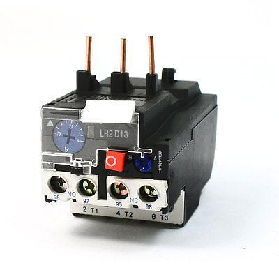 Ui 750V Ith 5A 6kW Breaker Volt LR2-D1316C 1NO 1NC 3 Pole Thermal Overload Relay 660v ui 10a ith 8 terminals rotary cam universal changeover combination switch