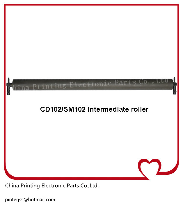 used heidelberg CD102 and SM102 Intermediate roller 41.010.417F original and second-hand heidelberg sm102 cd102 cleaning ink roller cylinder 61 184 1111