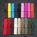 Nuevo Estilo de Moda de Nylon impermeable de Tela De Lona Militar Del Ejército Correa De Muñeca De Nylon Correa de Reloj 18mm 20mm 22mm 24mm