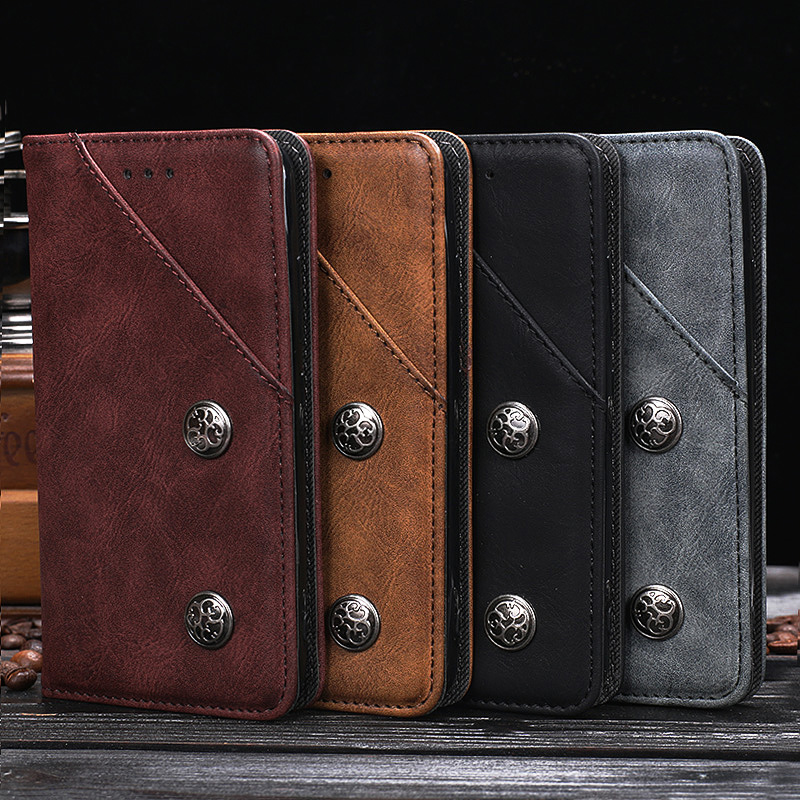 Case For Vernee Mix 2 Luxury Wallet PU Leather Retro Case For Vernee Mix2 Stand Flip Card Hold Phone Cover Bags