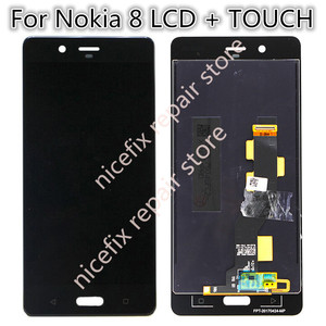 """Image 2 - 5.3"""" LCD For Nokia 8 LCD Display with Touch Screen Digitizer Assembly lcd for Nokia8 N8 TA 1004 TA 1012 TA 1052 with free tools"""