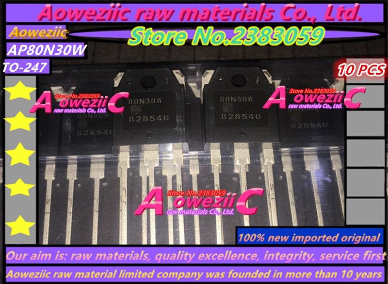 Aoweziic 100% naujas importuotas originalas 80N30W AP80N30W TO-247 FET N kanalas 88A MOS 300V
