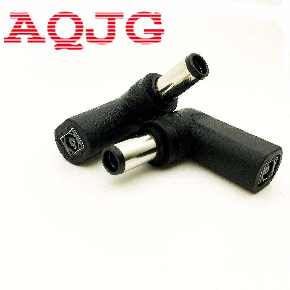 90 degree DC power Adapter Connector Plug DC conversion head jack female 7.4*5.0  plug male With pin 4.5*3.0 mm Female Cable zinuo 1pc dc power jack splitter adapter connector cable 1 dc female to 2 3 4 5 6 male plug for cctv camera led strip light