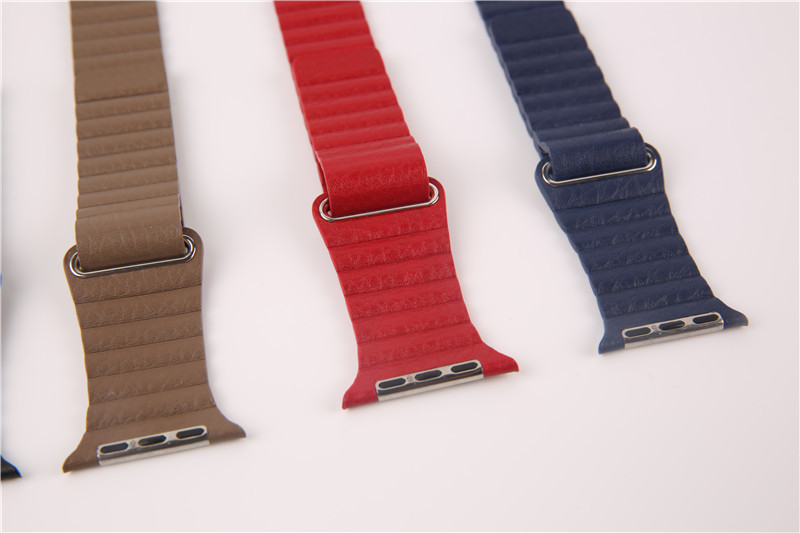For Apple Watch Leather Loop Strap (7)