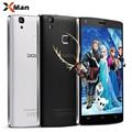 Original doogee x5 max pro smartphone android 6.0 5.0 polegada mtk6737 quad core 2 gb + 16 gb 5.0mp 4000 mah 4g lte touch id móvel telefone