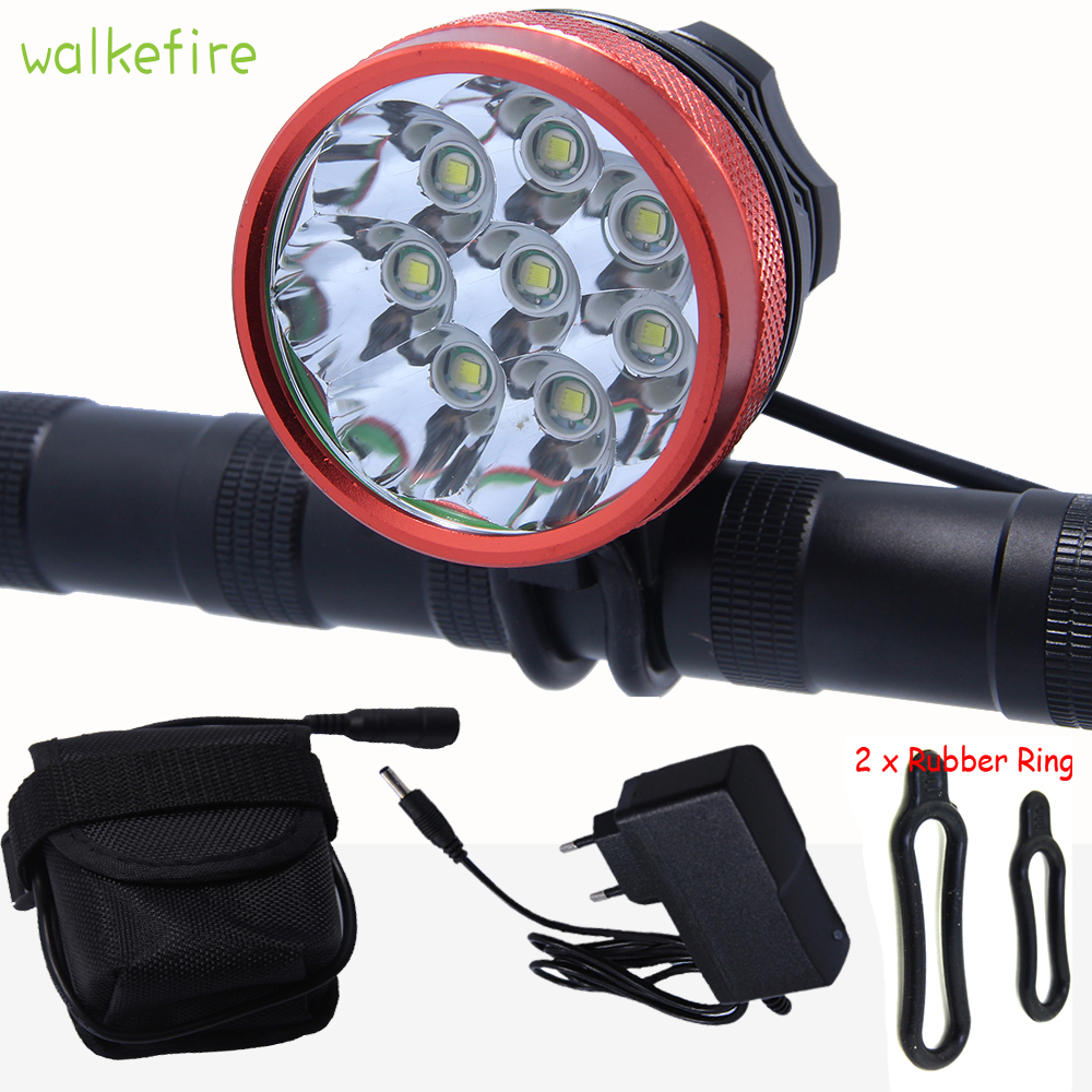 Walkfire 12000lumen 8x XML T6 LED Flashlight Bike Light Lamp Cycling Headlight Bicycle Accessories +Rechargeable Battery Pack sitemap 46 xml
