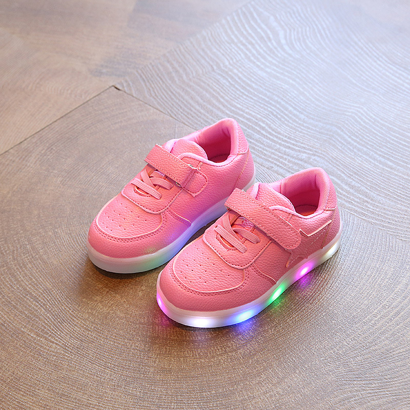 2017-new-light-childrens-shoes-stars-boys-and-girls-LED-lights-anti-skid-students-casual-shoes-1