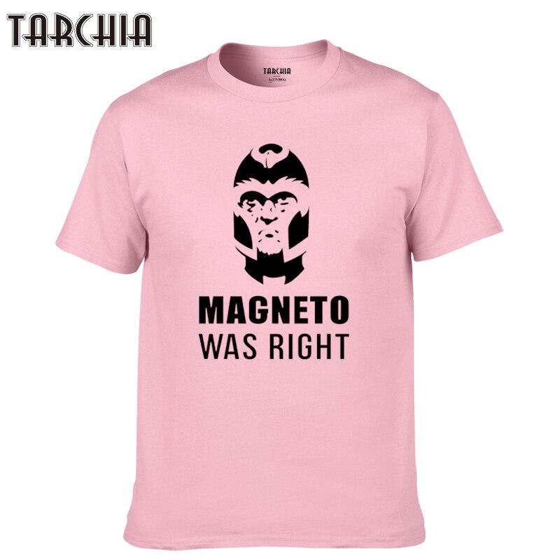 TARCHIA 2018 neue marke t-shirt baumwolle casual homme t-shirt t-shirt plus mode magneto war rechts tops tees männer kurzarm jungen