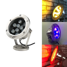Underwater Lights Led 12V 24v Pool Spotlight Low Pressure 3w Aquarium Colorful Fountain Waterfall Lamp