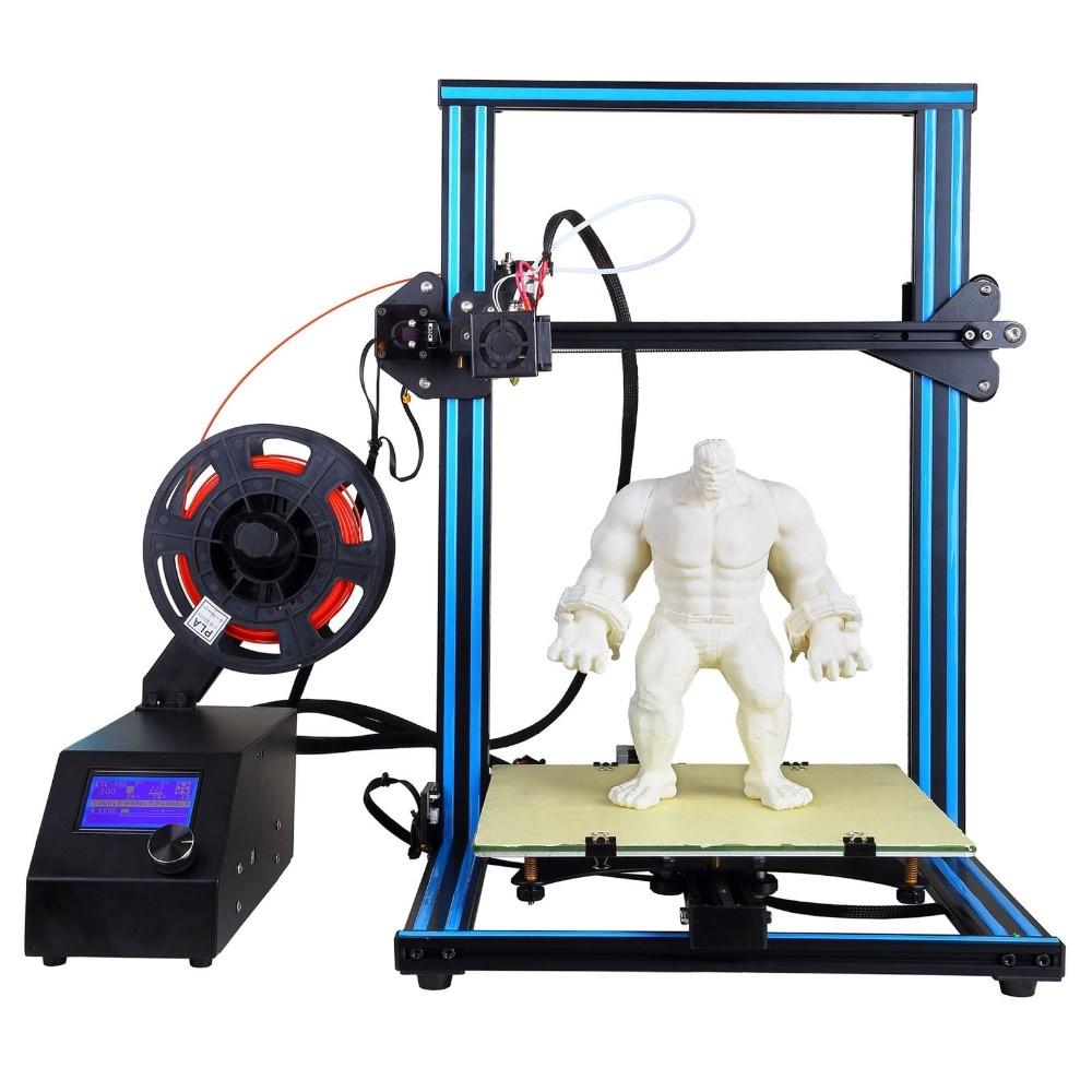 CTC A-10S 3D Printer Desktop DIY Kit 0.4mm Nozzle with Dual Z-axis FREE PLA