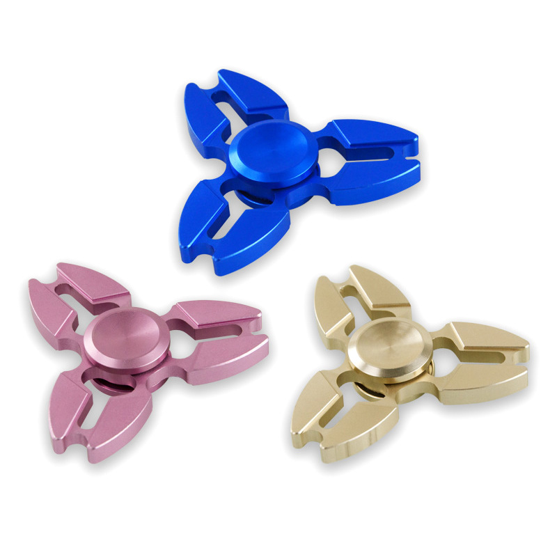 Stress Relief Toys Metal Hand Spinner Silent Hand Spinner Spinning Fidget Spinner Men Women