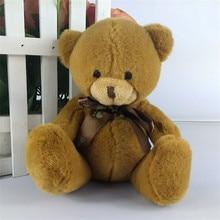 High quality super kawaii cute lovely bear factory outlet cartoon bear plush dolls bears Plush teddy bear doll 8 colours
