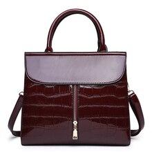 bags for womens 2018 New Shoulder handbag Alligator crossbody women Dress Casual Fashion brand