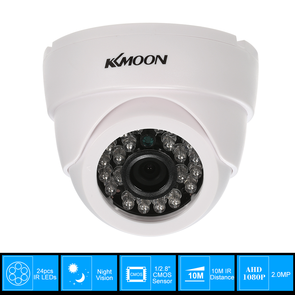 3.6mm 48-LED 1080P AHD Outdoor IR-CUT CCTV Dome Camera for AHD Security System