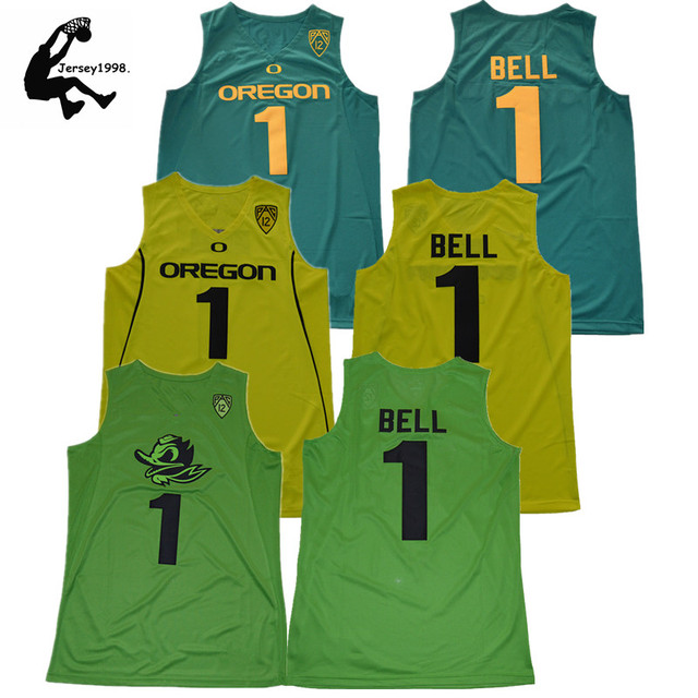 b441538aa2c ... low price mens jordan bell college basketball jersey oregon ducks  university 1 bell basketball shirt 896fc