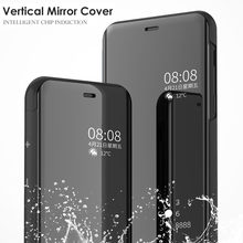 Mirror Flip Cover 6.2For Lg V40 Case For Lg V40 V30 V50 G8 Thinq 5G Plus H930 H933 Phone Back Coque Cover Case(China)