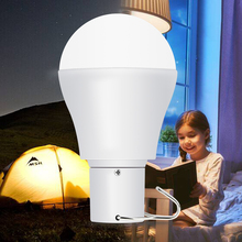 LED Solar Outdoor Lamp Portable Bulb 15W USB Rechargeable Emergency Camping Light Garden Power