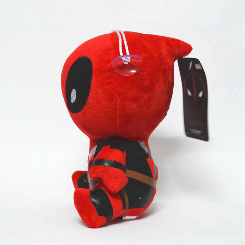 20 cm Filme Deadpool Marvel Boneca Macia X homem-homem Aranha Boneca de Brinquedo de Pelúcia Brinquedo Crianças Brinquedos de Aniversário decoração presentes do Partido Do presente