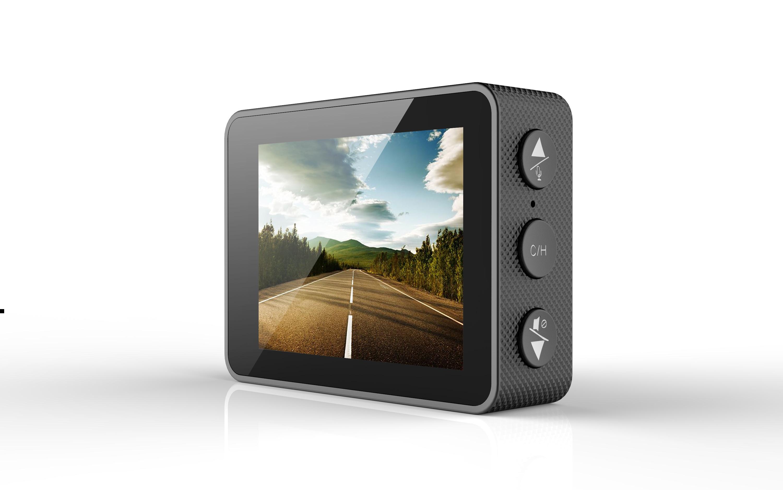 Elebest V12+ New 3 in 1 AntiRadar Car Radar detector DVR dash cam with GPS locator 720P video recorder dash camera for Russian